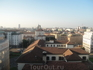 Вид на Милан из отеля