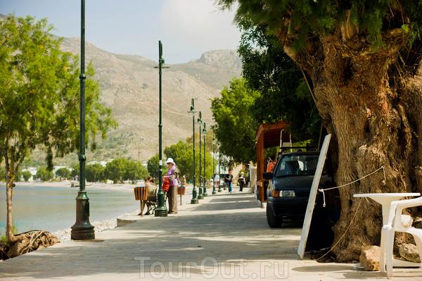Набережная острова Тилос