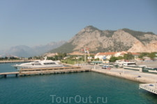 Бирюзовое Средиземное море