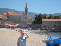 На пляже у Старого Города