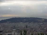 Вид Барселоны с горы Тибидабо (Tibidabo) 7