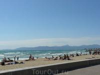 Пляж.