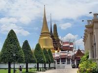 Храмовый комплекс в Бангкоке.