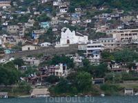 Городки майя на берегу озера Атитлан