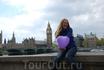 Биг-Бен - знаменитая колокольная башня в Лондоне. Название башни возникло от названия 13-тонного колокола, установленого внутри неё. Высота башни 61 метр ...