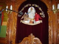 Греция. о.Кефалония. Церковь св. Герасима Кефалонийского в Скале