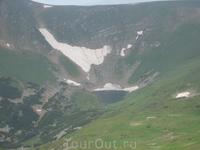 внизу озеро Бребенескул