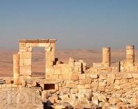 Руины города Авдат