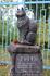 """""""Не все существа созданы для того, чтобы их так любили"""" - это написано на памятнике кошке Тотти. Местная рощинская достопримечательность."""
