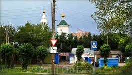 улица Коммунальная слобода  Владимирская горка и Владимирская церковь на ней