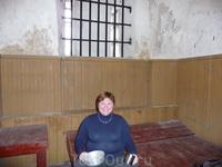 Музей города Раквере.  Тюремная камера