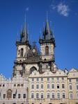 еще один из символов Праги -  Собор Богоматерь на ТЫну