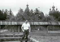 Музей деревянного зодчества под Архангельском - панорама