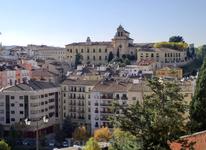 Продолжаем наш спуск в новый город, по дороге видим еще оду достопримечательность - Monasterio de los Franciscanos Descalzos (монастырь босоногих францисканцев) ...