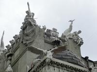Скульптурное оформление крыши