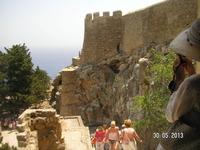 Спуск с Акрополя