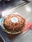 Ну и на десерт пирог с миндалем. Вообще миндаль каталонцы любят,  особенно часто добавляют его в тесто, отчего оно делается рассыпчатым и тает во рту. ...