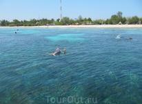 снорклинг на островах Gili