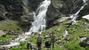 У второго Имеретинского водопада