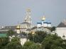 Сергиев Посад. Вид на Лавру со смотровой площадки.