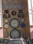 Верхняя площадь часы на Ратуше 3