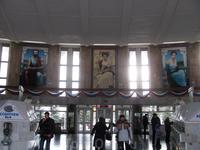 внутри питьевой галереи. мозаика с известными целителями мира.
