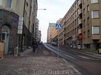 Тампере. Городские улочки