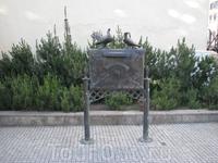 памятник почтовым голубям