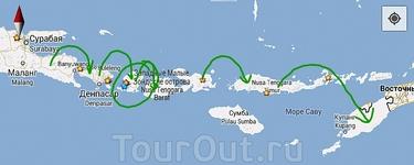 Впереди  еще  3 парома и 4 острова
