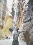 ущелье Сик - глубокий развал в нубийском песчанике