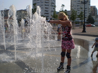 Чудо-фонтан в Новороссийске.
