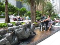 На улицах Гуанчжоу