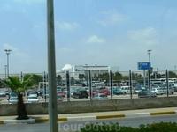Дорога от аэропорта до Сиде.