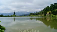 Озеро в районе Партизанской Поляны