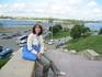 вид на реку Казанка