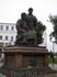 Кремль. Памятник зодчим Казанского Кремля. Расположен с южной стороны Благовещенского собора. Скульптурная композиция задумана авторской группой скульпторов ...