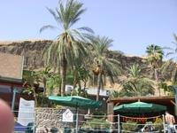 Хамат Гадер,вид на горы Иордании...