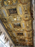 Пиза. Роскошный потолок  церкви  Санта Стефана Деи Кавальери.