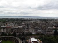 Вид на Эдинбург