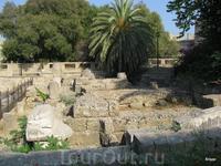 III век до Р.Х. руины храма Афродиты.
