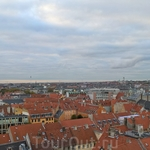 Копенгаген с высоты - это пятьдесят оттенков коричневого.