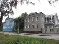 домики на Ленинградской улице