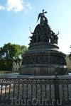 Памятник «Тысячелетию России», поставленный по проекту М.О. Микешина в 1862 году.