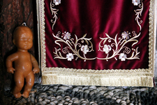 в этом монастыре находится чудотворная икона Богородицы Цамбики