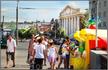 Красная площадь - место проведения всех значимых мероприятий и праздников в городе
