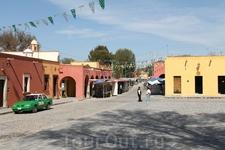 Деревня Атотонилько. С нее началось революционно-освободительное движение в Мексике в 1810г.