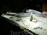 экспозиция посвящена Звездным войнам