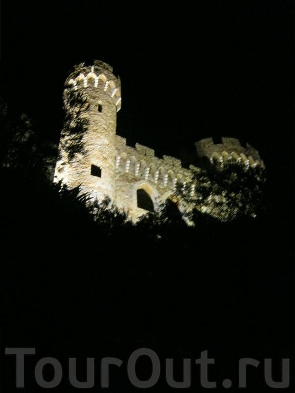 Бронте замок ллорет де мар
