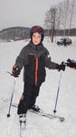 Настоящий лыжник.