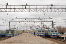 на станции Степногорск